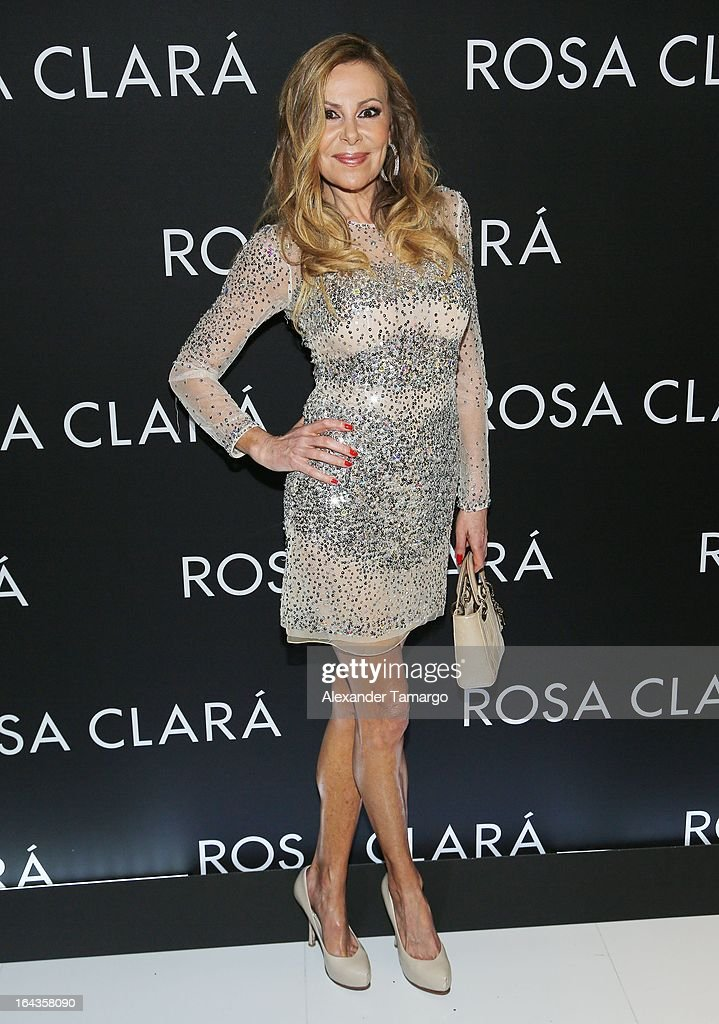 Ana Obregon attends the grand opening of Rosa Clara store on March 22, 2013 in Coral Gables, Florida.
