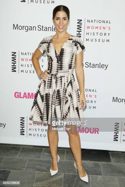 Ana Ortiz arrives at the National Women's History Museum's 3rd Annual Women Making History event held at Skirball Cultural Center on August 23, 2014...