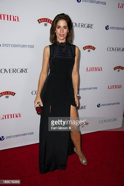 Ana Ortiz attends the Latina Magazine 'Hollywood Hot List' Party at The Redbury Hotel on October 3 2013 in Hollywood California