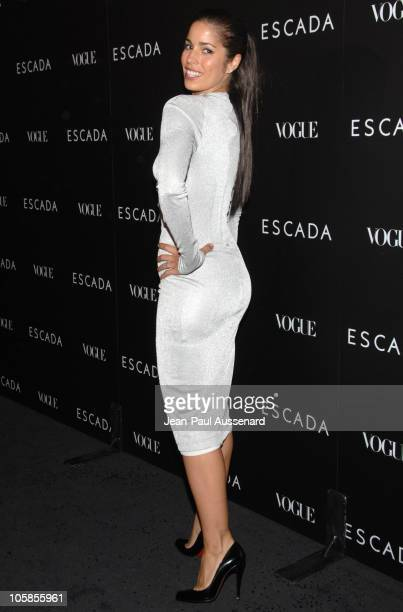 Ana Ortiz during Escada Grand Opening Of The Beverly Hills Flagship Boutique Arrivals at Escada Beverly Hills in Beverly Hills California United...