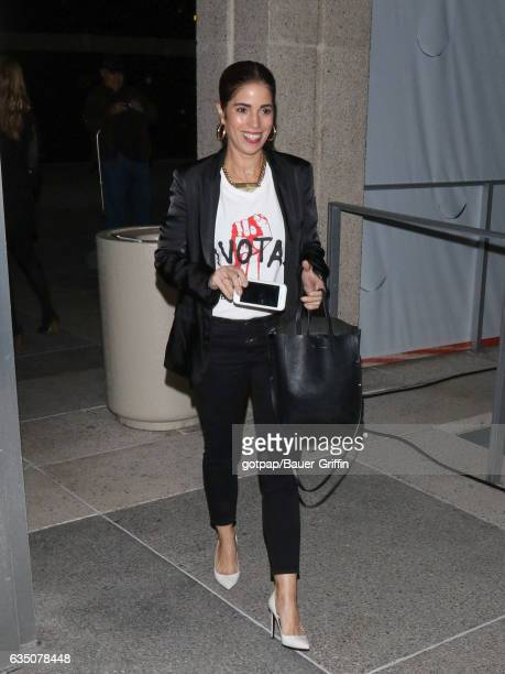 Ana Ortiz is seen on February 12 2017 in Los Angeles California