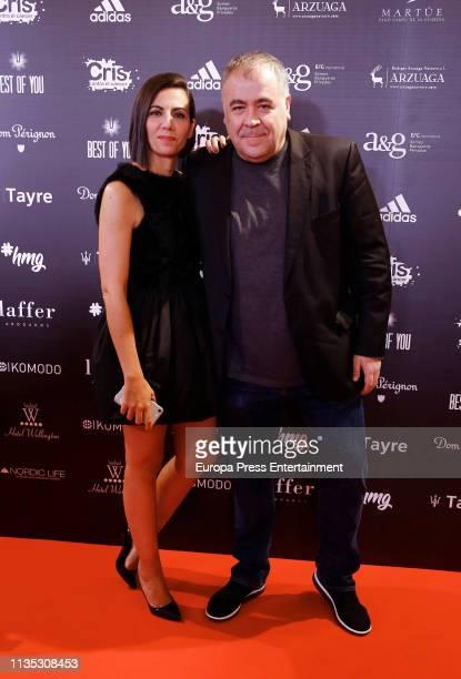 Ana Pastor and Antonio Garcia Ferreras attends 'Cena Pirata' on March 11 2019 in Madrid Spain