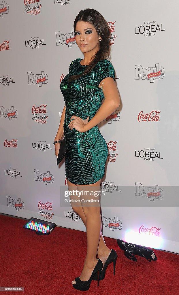 Ana Patricia attends People en Epanol's Las Estrellas del Ano 2011 at Rubell Family Collection on December 8, 2011 in Miami, Florida.