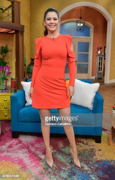 Ana Patricia attends the Univision's 'Despierta America' on May 2 2017 in Miami Florida