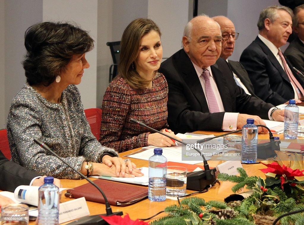 Queen Letizia Attends FAD : News Photo