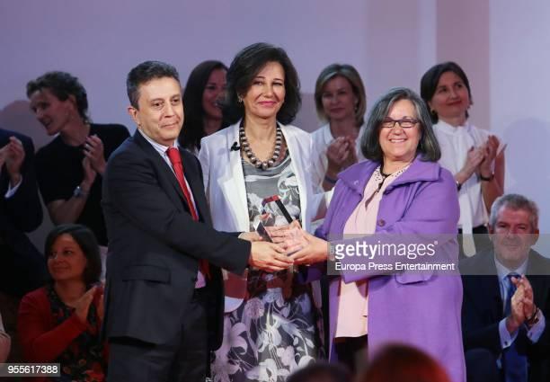 Ana Patricia Botin attends 10th 'Proyectos Sociales Banco de Santander' awards at Las Alhajas Palace on May 7 2018 in Madrid Spain