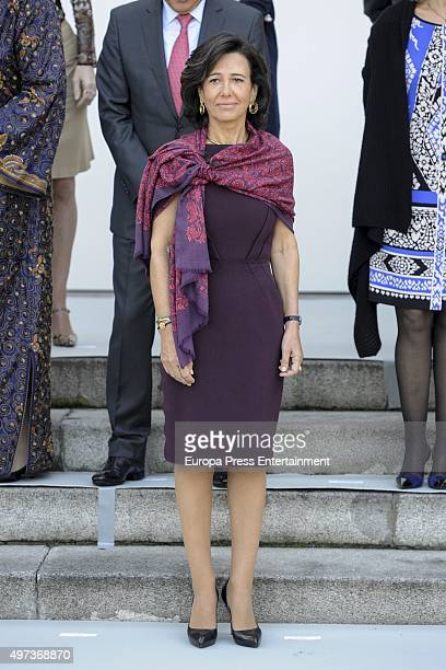 Ana Patricia Botin attends a meeting with 'Mujeres Por Africa' foundation on November 16 2015 in Madrid Spain