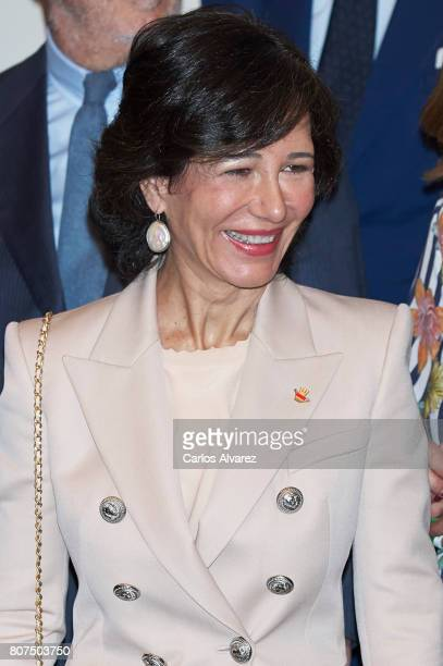 Ana Patricia Botin attends 'Foundation Against Drugs' meeting at Distrito Telefonica on July 4 2017 in Madrid Spain