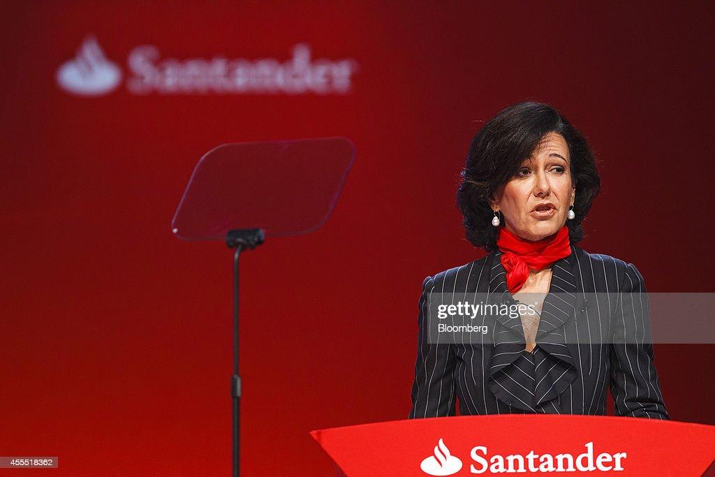 Ana Botin Attends First Banco Santander SA AGM Since Succeeding Her Father As Chairman : News Photo
