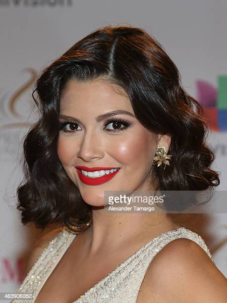 Ana Patricia Gamez attends the 2015 Premios Lo Nuestros Awards at American Airlines Arena on February 19 2015 in Miami Florida