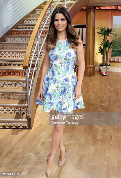 Ana Patricia Gamez is seen on the set of 'Despierta America' at Univision Studios on May 3 2016 in Miami Florida