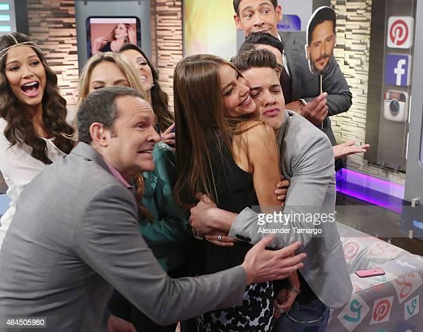 Ana Patricia Gamez Ximena Cordoba Alan Tacher Sofia Vergara William Valdes and Johnny Lozada wake up in Miami with Univision's Despierta America to...