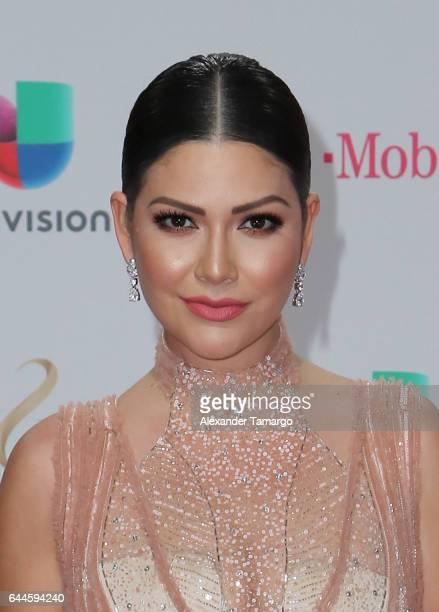 Ana Patricia Gámez attends Univision's 29th Edition of Premio Lo Nuestro A La Musica Latina at the American Airlines Arena on February 23 2017 in...