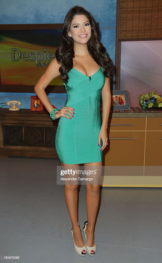 "On The Set Of Univisions ""Despierta America"""