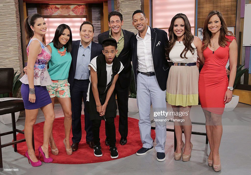 Will And Jaden Smith Visit Univisions Despierta America Show