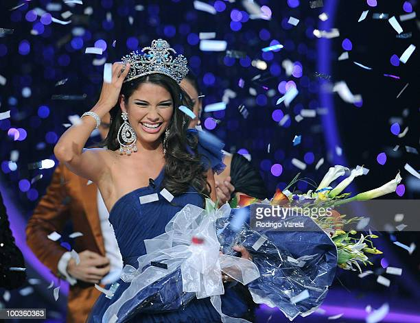 Ana Patricia Gonzalez wins Nuestra Belleza Latina 2010 on May 23 2010 in Miami Florida