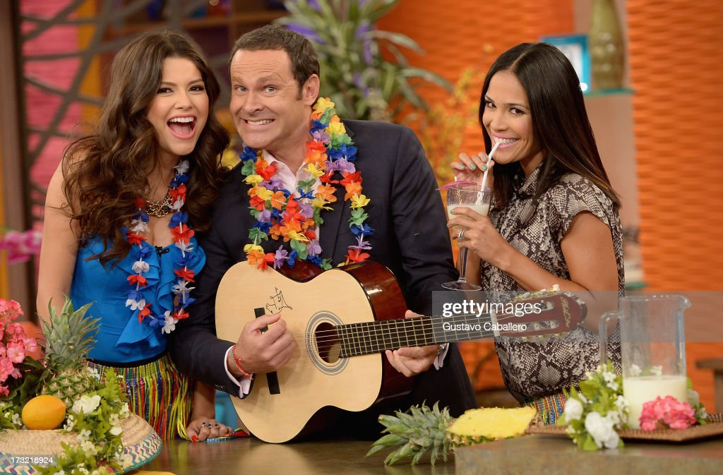 Ana Patricia,Alan Tacher and Karla Martinez visits Univisions 'Despierta America at Univision Headquarters on July 10, 2013 in Miami, Florida.