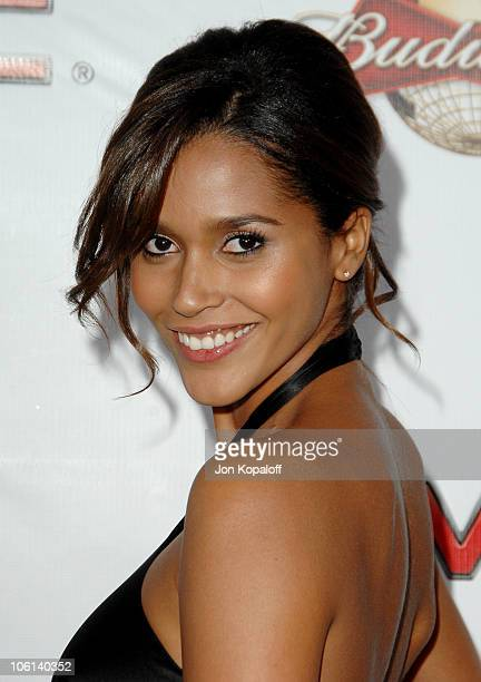 Ana Paula Araujo during 2007 Sports Illustrated Swimsuit Issue Party at Pacific Design Center in Los Angeles California United States