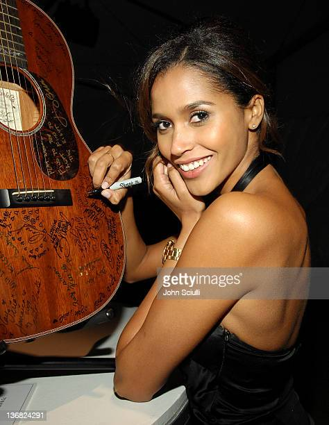 Ana Paula Araujo during 2007 Sports Illustrated Swimsuit Issue Party Inside at Pacific Design Center in Los Angeles California United States