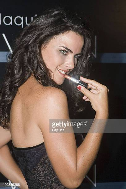 Ana Paula Arosio during Ana Paula Arosio Launches Avon Makeup Collection at Sao Paulo in Sao Paulo SP Brazil