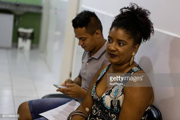 Ana Paula Rocha and Denis Paulo da Silva who volunteered for the dengue vaccine trials In Recife northeastern Brazil The Butantan Institute of São...