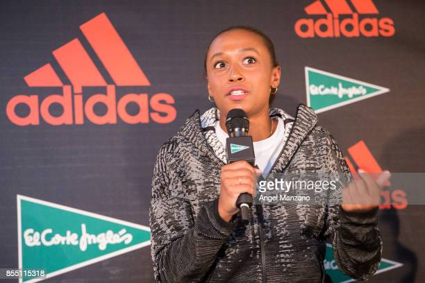 Ana Peleteiro attends Athletics ZNE Pulse Presentation by Adidas at El Corte Ingles Sol on September 28 2017 in Madrid Spain