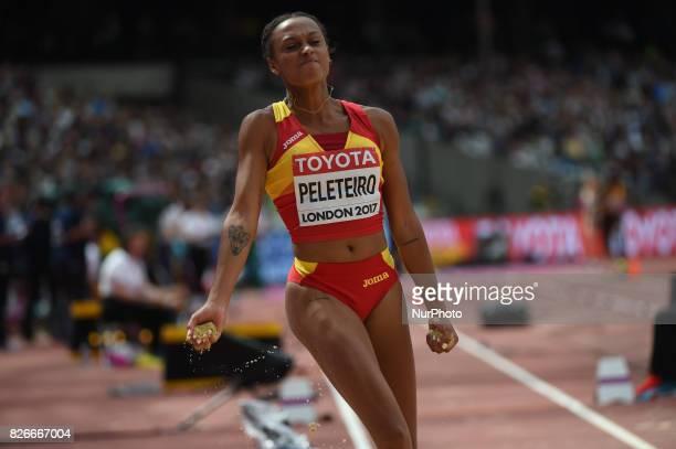 Ana PELETEIRO Spain at triple jump preliminary heat at London Stadium in London on August 5 2017 at the 2017 IAAF World Championships athletics