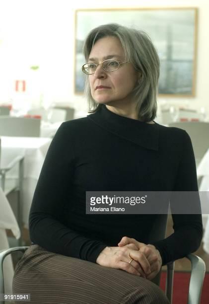 Ana Politkovskaya Russian journalist Put picture