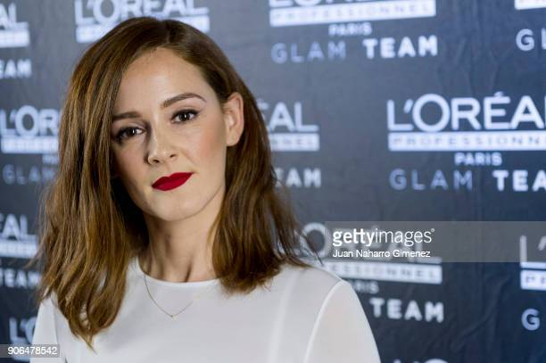 Ana Polvorosa attends candidates of Feroz Awards L'Oreal Professionel presentation at Pons Foundartion on January 18 2018 in Madrid Spain