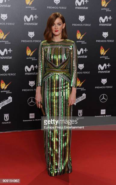 Ana Polvorosa attends Feroz Awards 2018 at Magarinos Complex on January 22 2018 in Madrid Spain