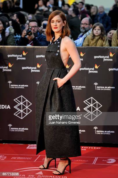 Ana Polvorosa attends photocall during of the 20th Malaga Film Festival on March 25 2017 in Malaga Spain