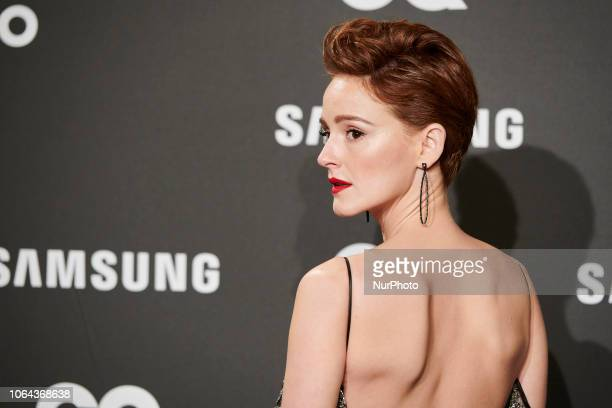 Ana Polvorosa attends the 'Gq Man of the year 2018 awards' at Westin Palace Hotel in Madrid Spain on Nov 22 2018