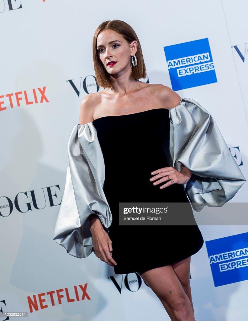 Ana Polvorosa Fotos ana polvorosa attends the 'vogue fashion's night out