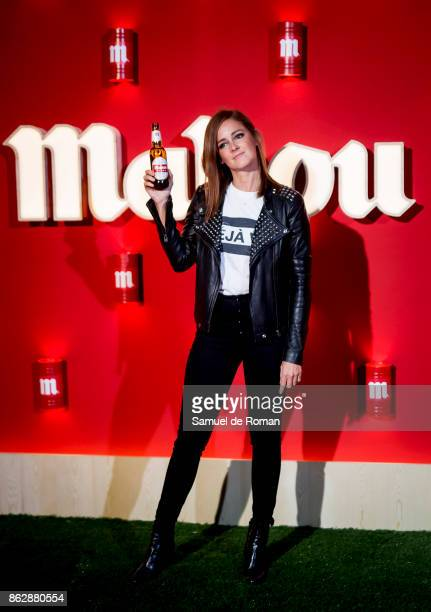 Ana Polvorosa during 'Mercado de Sabores' Inauguration Party on October 18 2017 in Madrid Spain