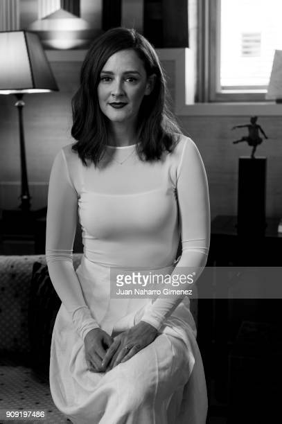 Ana Polvorosa poses during a portrait session on January 18 2018 in Madrid Spain