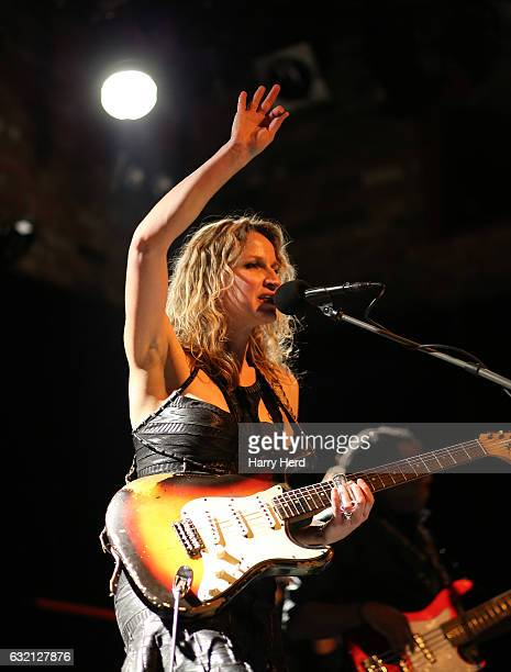 Ana Popovic performs at The Brook on January 19, 2017 in Southampton, England.