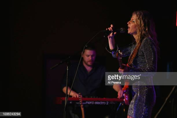 Ana Popovic performs at the Loft at City Winery on September 17, 2018 in New York City.