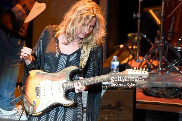 Ana Popovic performs during Experience Hendrix at The Louisville Palace on March 19, 2017 in Louisville, Kentucky.