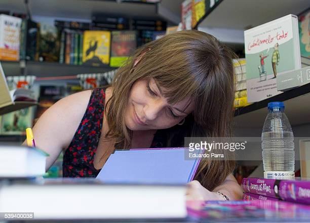 Ana Punset attends Book Fair 2016 at El Retiro Park on June 11 2016 in Madrid Spain
