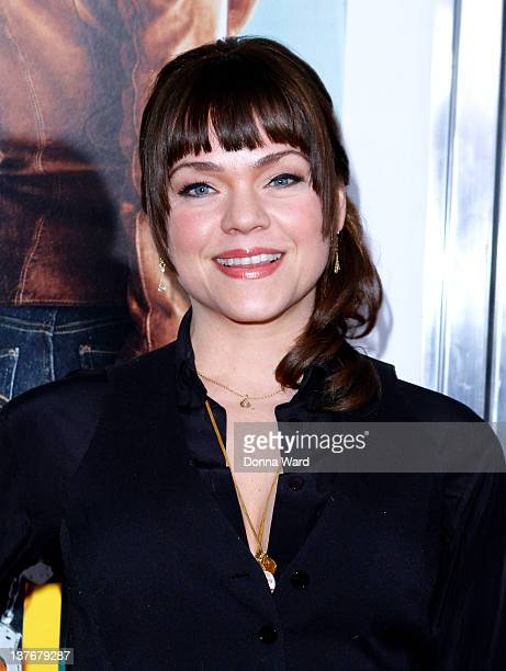Ana Reeder attends the One for the Money premiere at the AMC Loews Lincoln Square on January 24 2012 in New York City