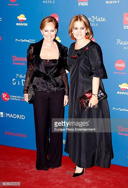 Ana Rodriguez and Rosa Tous attend 'Gala Sida' 2016 at Cibeles Palace on November 21, 2016 in Madrid, Spain.