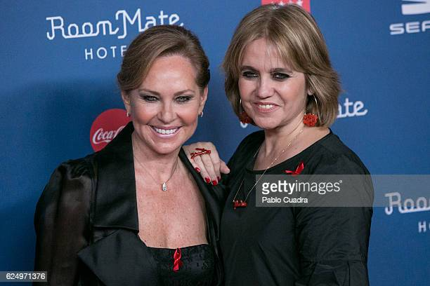 Ana Rodriguez and Rosa Tous Oriol attend the 'Gala Sida' 2016 at Cibeles Palace on November 21, 2016 in Madrid, Spain.