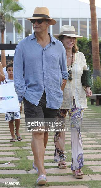 Ana Rosa Quintana and Juan Munoz are seen on August 22 2013 in Sotogrande Spain