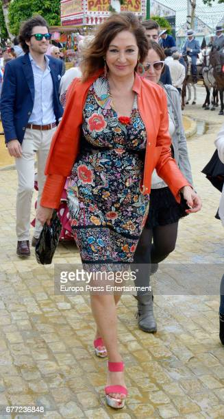 Ana Rosa Quintana attends 2017 April's Fair on April 30 2017 in Seville Spain