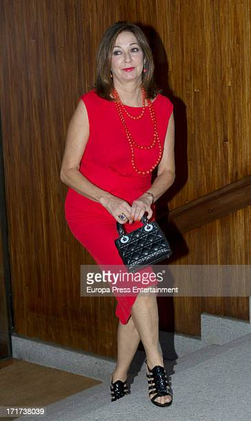 Ana Rosa Quintana attends a party at Countess of La Maza's home on June 18 2013 in Madrid Spain