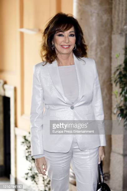 Ana Rosa Quintana attends CAM Awards for International Women Day 2020 on March 06 2020 in Madrid Spain