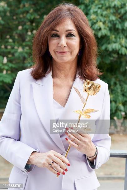 Ana Rosa Quintana attends 'Club Internacional De Prensa' Awards 2019 on May 08 2019 in Madrid Spain