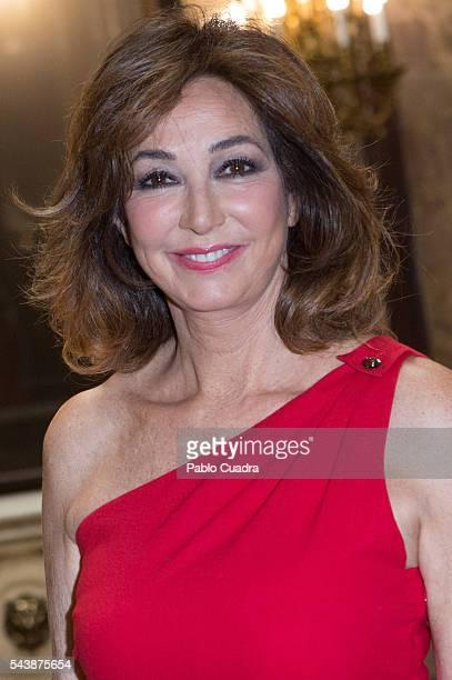 Ana Rosa Quintana attends 'Eisenhower Fellows Association' Awards at 'Casa de America' on June 30 2016 in Madrid Spain