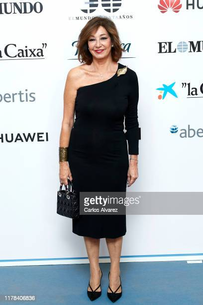Ana Rosa Quintana attends 'El Mundo' newspaper 30th anniversary at the Palace Hotel on October 01 2019 in Madrid Spain