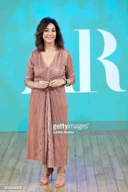 Ana Rosa Quintana attends 'El Programa de Ana Rosa' Mediaset photocall on June 23, 2021 in Madrid, Spain.